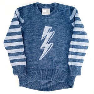 Gap Kids x ED Girls Sweater Size 6/7 Blue